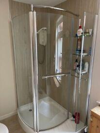 Shower enclosure & tray