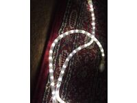 White LED lighting strip, indoor or outdoor use