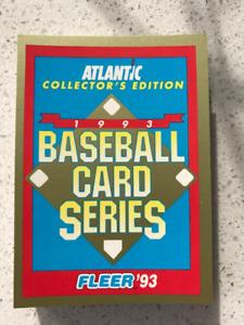 1993 Fleer Atlantic Baseball Complete Set
