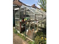 Greenhouse 4 x 6 ft approx