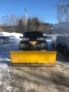 2000 GMC 4 X 4 with plow for sale