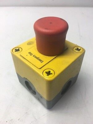 Klockner Moeller Emergency Push Button w/ Enclosure, Used, Warranty