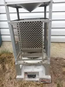 Gas heater 100000BTUH with 20 feet gas line hose for sale