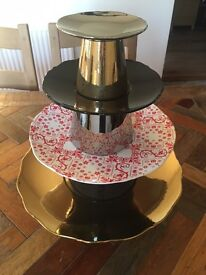 4 Tier Cake Stand Marks & Spencer design by Marcel Wanders £99 brand New