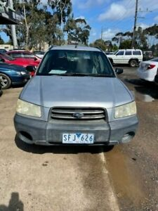 2003 Subaru Forester MY03 X Silver 5 Speed Manual Wagon Werribee Wyndham Area Preview