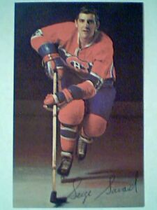 SERGE-SAVARD-70-71-MONTREAL-CANADIENS-COLOR-POSTCARD