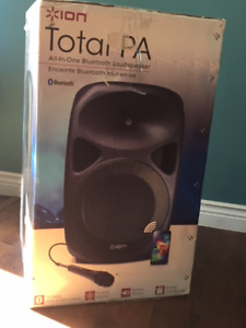 All in One Loud Speaker with Stand
