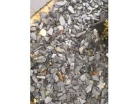 Quantity of Blue Slate Chippings