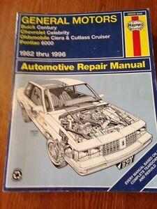 Haynes General Motors Automotive Repair Manual