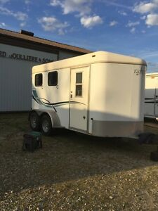 2001 Keifer Bulit 2 Horse Trailer