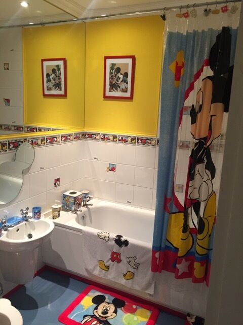 mickey mouse bathroom | shoe800