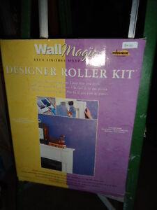 Designer Wall Art Roller Kit