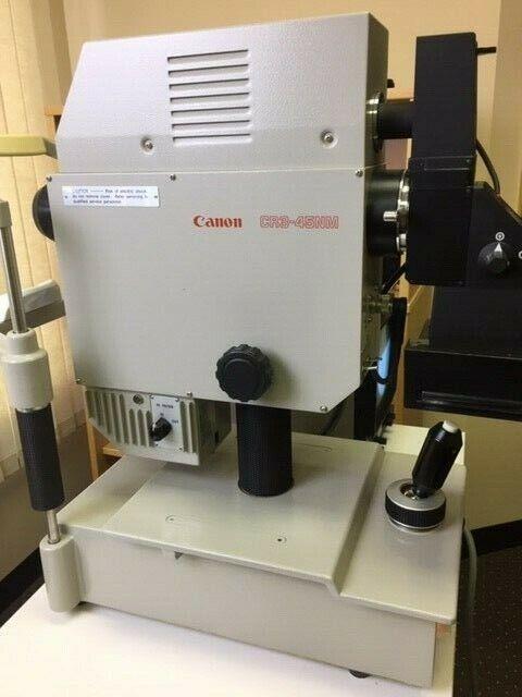 Retinal Camera - Used Canon CR3-45NM non-mydriatic Polaroid