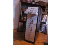 15 drawer cabinet for sale.