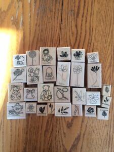 Complete Lot of Stampin Up Various Stamps