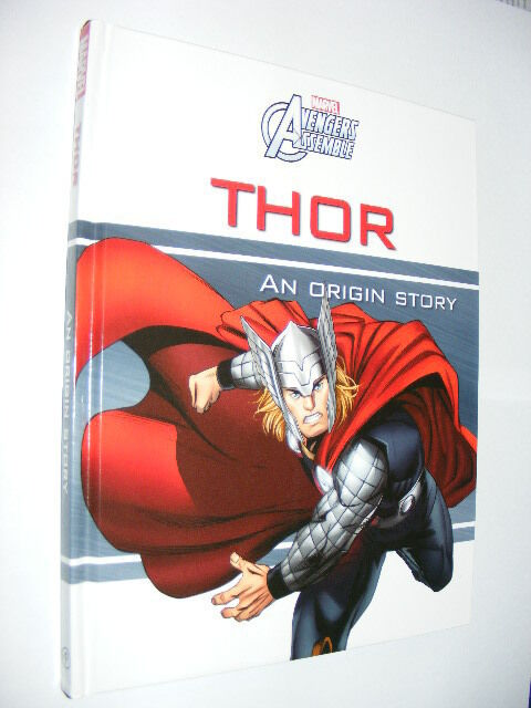 Marvel Avengers Assemble Thor An Origin Story HB book children's