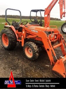 1997 Kubota L2900 4WD Tractor with Loader