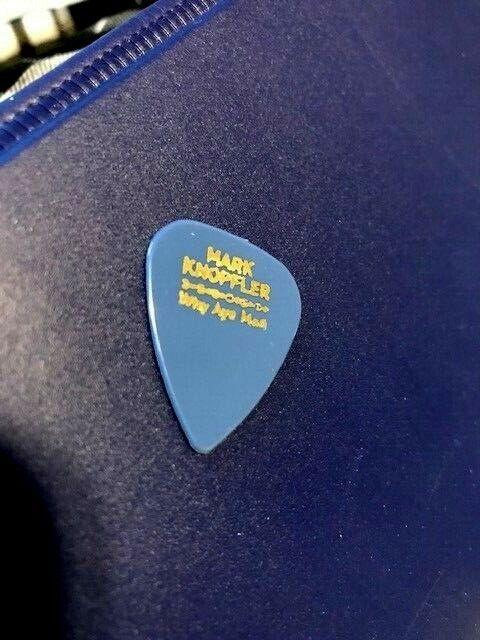 MARK KNOPFLER Guitar Pick Picks Plectrum VERY RARE DIRE STRAITS 2 - $2.53