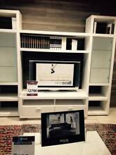 Brand New Nick Scali TV wall unit in white Naremburn Willoughby Area Preview