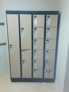 METAL LOCKERS FOR SALE - EXCELLENT CONDITION - 15 UNITS