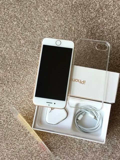 iPhone 7 128GB Goldin Leicester, LeicestershireGumtree - iPhone 7 128GB Gold IPhone 7 128GB Gold Colour 6 Weeks old Excellent condition Like brand new On EE network All Original box, pin and charger CALL OR TEXT ON 07939697221