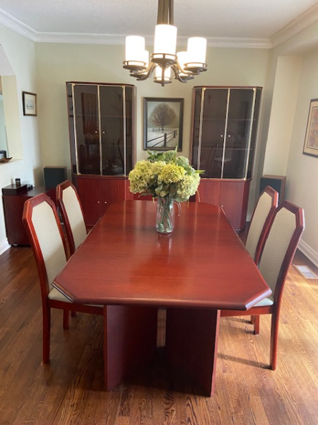 mobilia dining room suite  dining tables  sets  ottawa