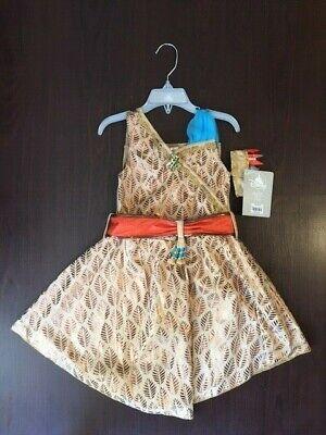 Disney Store Pocahontas Dress / Armband  Size 4  NWT  NEW](Pocahontas Arm Band)