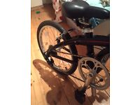 Tern Link B7 Folding Bike 2015 7 gear speed.