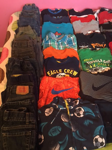 Lot of Boy Size 6 Clothes
