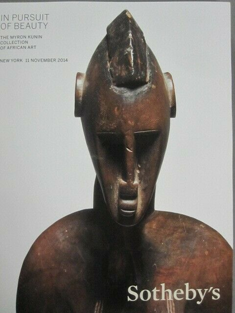 Sotheby 11/11/14 Afriacan Tribal Art Masks & Figures Myron Kunin collection