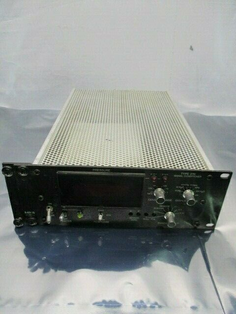 MKS 270C-4 Type 270 Signal Conditioner, Display, 100881