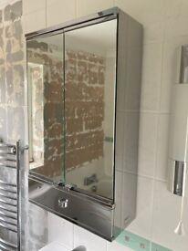 Original Mirrored bathroom storage cabinet