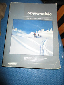 Clymer Snowmobile Service Manual 11th Edition