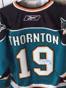 Autographed Joe Thorton San Jose Sharks Jersey