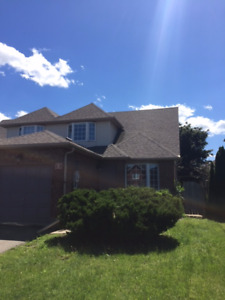 6 Bedroom House available Now until April 30th 2018