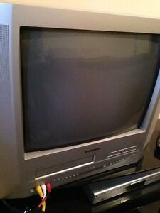 "20"" TV with built in DVD & VCR"