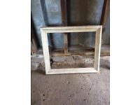 Vintage looking wooden picture frame