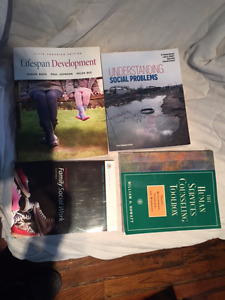 Social Service Worker (SSW) Textbooks from terms 2 and 3 (sold t