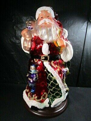 Thomas Pacconi Classics Blown Glass Santa Holiday Christmas 2004 Large Figure](Large Santa Figure)