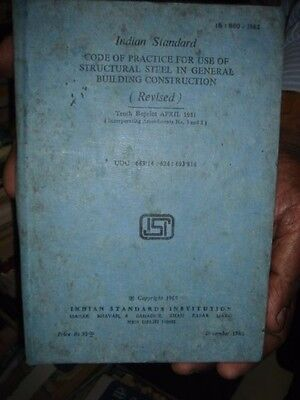 INDIAN STANDARD CODE OF PRACTICE FOR USE OF STRUCTURAL STEEL IN GENERAL ...