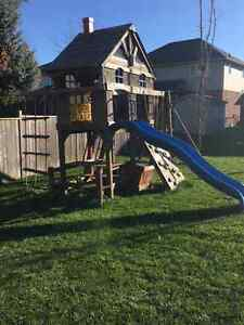 Kids Playground Swing Set with Slide London Ontario image 3