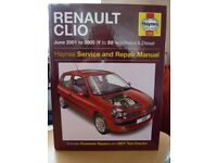 RENAULT CLIO WORK SHOP MANUAL