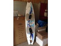 F-One Kite surfing board & Leash