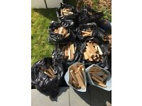 9 bags of soft-wood kindling. Collect - Hove.
