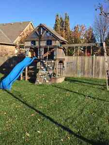 Kids Playground Swing Set with Slide London Ontario image 1