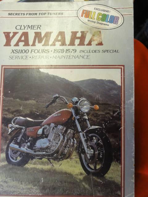 YAMAHA XS1100 FOUR'S WORKSHOP SERVICE MANUAL c1978-1979 ... on