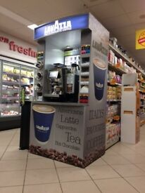 LAVAZZA COFFEE DOCK - BARISTA BAR - COSTA - INSOMNIA -- ETC ETC