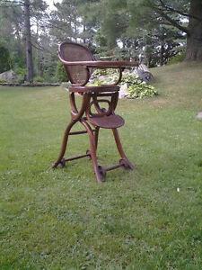 chaise-haute , chaises, berceau, bercante,antiquités
