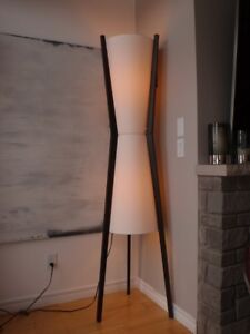 "Large Modern Floor Lamp - 73"" tall"
