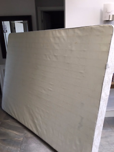 FREE queen box spring, high end, super clean, nonsmoking house